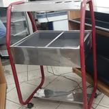 Buffet Self Service 4 Cubas Para Refrigeração De Saladas