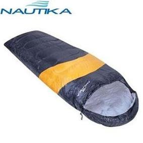 Saco De Dormir Nautika Viper 230100 - Preto/laranja