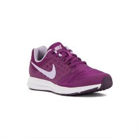 7e26dc2e589 Tenis Nike Downshifter 7 Mujer Morado Fucsia Correr Gym
