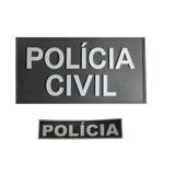 Kit Emborrachado Polícia Civil Costas + Polícia Peito