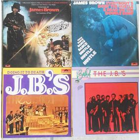 Coleção 9 Lps James Brown & J.b.s Leia O Anúncio Raridade