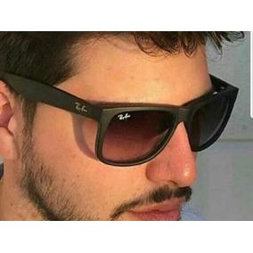 Ray Ban Justin Preto Fosco, Lente Polarizada - Óculos no Mercado ... f3afc885d3