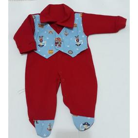 Macacão Vermelho em Minas Gerais de Bebê no Mercado Livre Brasil 8c074c393b