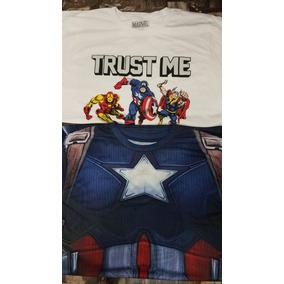 Lote 24 Pzs Camiseta Marca Original Playera Marvel Nintendo