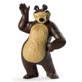 Mini Figuras Básicas - Masha E O Urso - Urso Acenando - Sunn