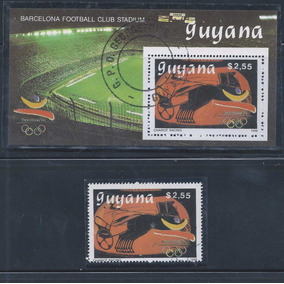 2584 - Guyana - Futebol Estádio Do Barcelona Fc