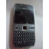 Celular Nokia E72-2 Usada So Vibra Retirada De Peças N607
