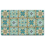 Contador Art Marroquí Azulejos Anti Fatiga Floor Mat 30x 2