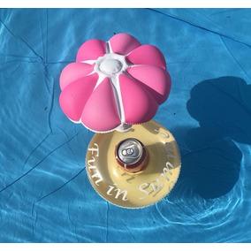 Porta Copo Inflável - Sombrite - Rosa - Boia Para Diversos
