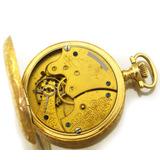 0cd75bc2c9c Relógio De Bolso American Watch Co. Waltham Ouro 14k J8237