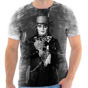 Camiseta Chapeleiro Maluco Johnny Depp - Camisetas Manga Curta para ... 08bffcce1b9