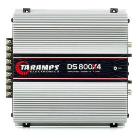 Modulo Amplificador Ts800 X4 800w Rms Rca Taramps Ds-800
