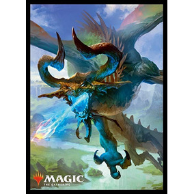 Sleeve Magic:the Gathering Nicol Bolas, The Ravager Oficial