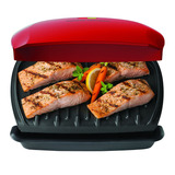 Parrilla Eléctrica Antiadherente George Foreman Grill Cook