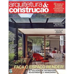 Lote 10 Revistas Arquitetura & Construção Au Várias Edições