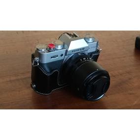 Camera Fuji Xt20 Silver + 2 Lentes F2 E Acessorios