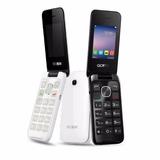 Celular Alcatel 2051d Flip Dual Sim Ótimo Pra Idosos!