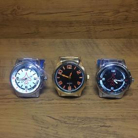Kit 3 Relógios Masculino - Produto De Qualidade