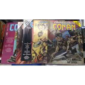 A Espada Selvagem De Conan Em Cores! Vários! R$ 15,00 Cada!