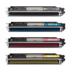 Conjunto C/ 4 Toner Cp-1020 Cp-1025 M-176n M176 M-177fw M177