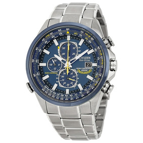 Relógio Citizen Eco Drive Blue Angels At8020-54l