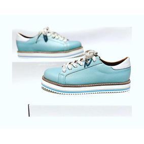 Zapatillas Sneakers - Zapatillas Urbanas Celeste en Mercado Libre ... b0468e357b3