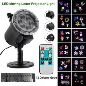 f6debd1e6d9 Proyector Láser 12 Discos Diferentes Figuras Impermeable