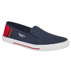 Tenis Hombre Pepe Jeans Marino Rojo 88995