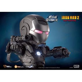 Iron Man 2 War Machine - Egg Attack Com Luz Em Led