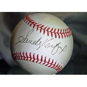 Sandy Koufax Jsa Feeney Liga Nacional Autografo Béisbol Auté 8015f7d0d8080