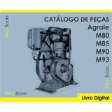 Catálogo Peças Motores Agrale M80 M85 M90 M93 - Antigo