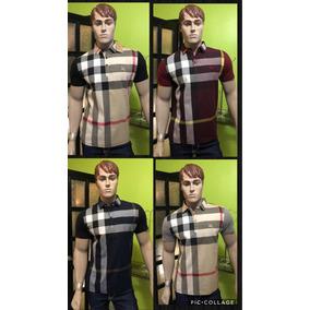 Camisa Burberry Tipo Polo 4 Colores Disponibles