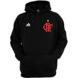 47a9d365b3173 Blusa Flamengo Moletom Canguru Casaco De Frio Time Futebol