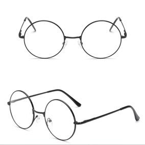 Armação Óculos Redondo - Óculos Armações no Mercado Livre Brasil 32a1ec3596