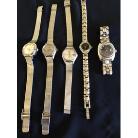 Lote 5 Lindos Relógio De Pulso Feminino Seiko Automáticos,