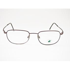 Armação Para Óculos Bhpc Vintage Extra Largo Marrom M8050 b0ac0cc0e7