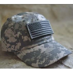 Gorra Tactica Militar Con Bandera De Estados Unidos Incluida