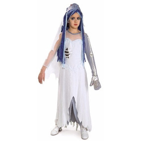Traje de novia cadaver para halloween