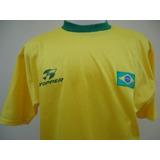 Camisa Seleção Brasileira Topper - Futebol no Mercado Livre Brasil ab0d150c59c88