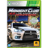 Midnight Club L.a. Remix Para Box 360----------------mr.game