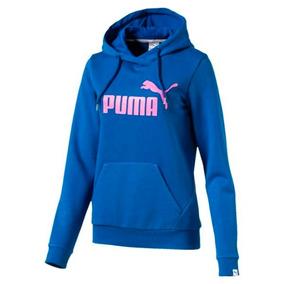 Moletom Puma Hoody True Feminino 83840610 - P - Azul 2103e85d50a25