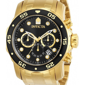 Relógio Invicta Pro Diver 0072 - Original Dourado