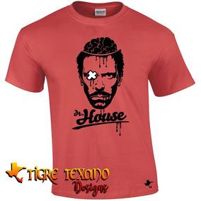 Playera Series Tv Dr. House Mod. 04 By Tigre Texano Designs