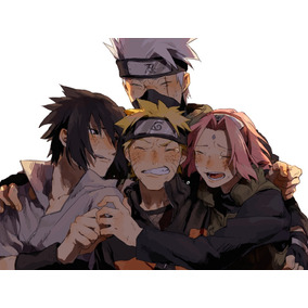 Quadro 20x30 Naruto Shippuden: Kakashi,naruto,sakura,sasuke
