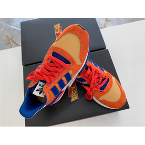 Sneakers Zx 500 Dragon Ball Z Son Goku Originales