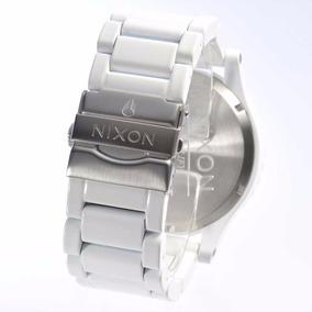 Pulseira Nixon 51-30 100% Original Branco Silver A0831255