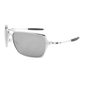 Óculos Oakley Inmate Prata Com Lentes Marron Polarizadas - Óculos De ... e8dc5ef393