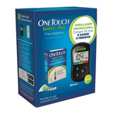 Kit Onetouch Select Plus Aparelho + 50 Tiras