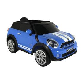 Carro Elétrico Infantil Mini Paceman Azul - 12 V Bel