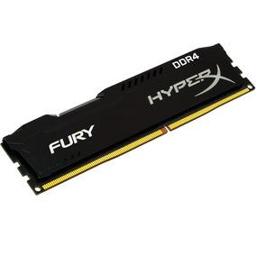 Mem Hyperx Fury 8gb Cl15 2400mhz Ddr4 Dimm 1.2v Preto